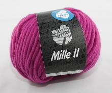 Lana Grossa Mille II Farbe 26 Pink