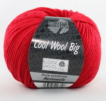 Lana Grossa Cool Wool Big Farbe 648 Rot