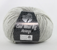 Lana Grossa Cool Wool Big Farbe 616 Hellgrau