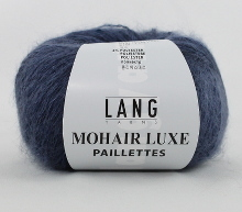 Lang Yarns Mohair Luxe Pailletten Farbe 10