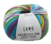 Lang Yarns Merino 200 Bébé Color