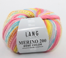 Lang Yarns Merino 200 Bébé Color Farbe 309