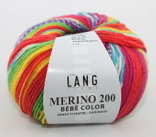 Lang Yarns Merino 200 Bébé Color Farbe 313