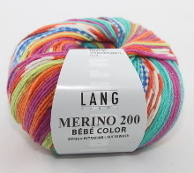 Lang Yarns Merino 200 Bébé Color Farbe 358