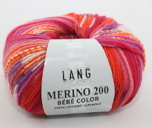 Lang Yarns Merino 200 Bébé Color Farbe 360