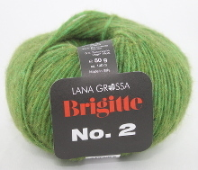 Charming Lana Grossa BRIGITTE NO. 2 Farbe 01 Grün Design Ideas