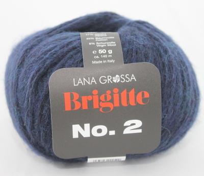 Charming Lana Grossa BRIGITTE NO. 2 Farbe 05 Nachtblau Amazing Design