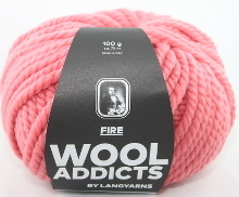 Lang Yarns Wooladdicts FIRE Farbe 29