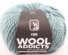Lang Yarns Wooladdicts FIRE Farbe 74