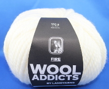 Lang Yarns Wooladdicts FIRE Farbe 94