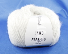 Lang Yarns Malou Light Farbe 03 Hellgrau