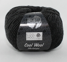 Lana Grossa Cool Wool Farbe 444 Anthrazit