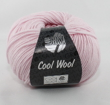 Lana Grossa Cool Wool Farbe 452 Rose