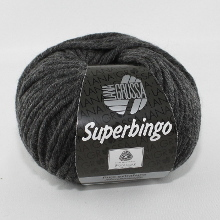 Lana Grossa Superbingo Farbe 15 Anthrazit