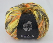 Lana Grossa Pezza Farbe 03 gelb-orange