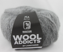 Lang Yarns Wooladdicts Water Farbe 03 Hellgrau