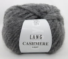 Lang Yarns Cashmere light Farbe 05 steingrau