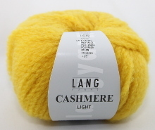 Lang Yarns Cashmere light Farbe 14 gelb