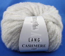 Lang Yarns Cashmere light Farbe 23 hellgrau