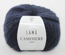 Lang Yarns Cashmere light Farbe 25 dunkelblau