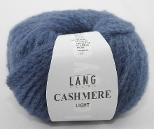 Lang Yarns Cashmere light Farbe 34 blau