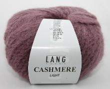 Lang Yarns Cashmere light Farbe 48 beere