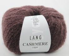 Lang Yarns Cashmere light Farbe 80 braunlila