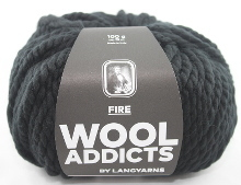 Lang Yarns Wooladdicts FIRE Farbe 04