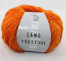 Lang Yarns Velluto Farbe 59 Orange