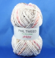 Phildar Phil Tweed Farbe ecru