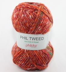Phildar Phil Tweed Farbe giroflee