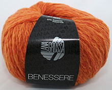 Lana Grossa Benessere Farbe 11 Orange