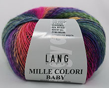 Lang Yarns Mille Colori Baby Farbe 154