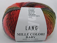 Lang Yarns Mille Colori Baby Farbe 162