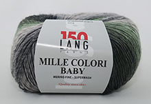 Lang Yarns Mille Colori Baby Farbe 118