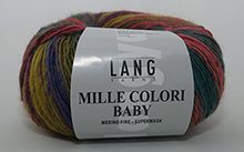 Lang Yarns Mille Colori Baby Farbe 155